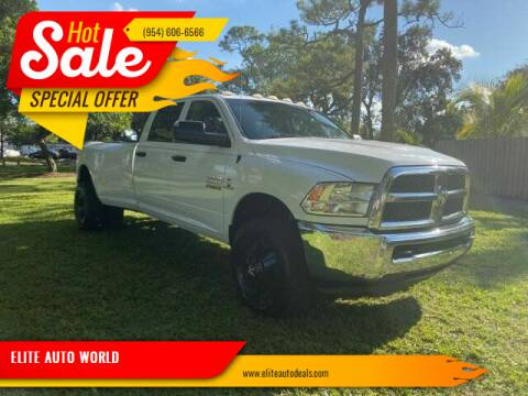 2014 RAM Ram Pickup 3500 for sale at ELITE AUTO WORLD in Fort Lauderdale FL