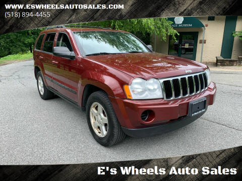 2007 Jeep Grand Cherokee for sale at E's Wheels Auto Sales in Hudson Falls NY