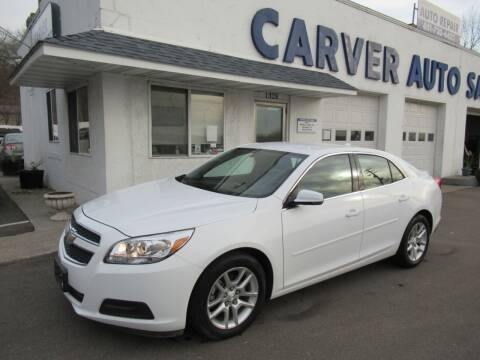 2013 Chevrolet Malibu for sale at Carver Auto Sales in Saint Paul MN