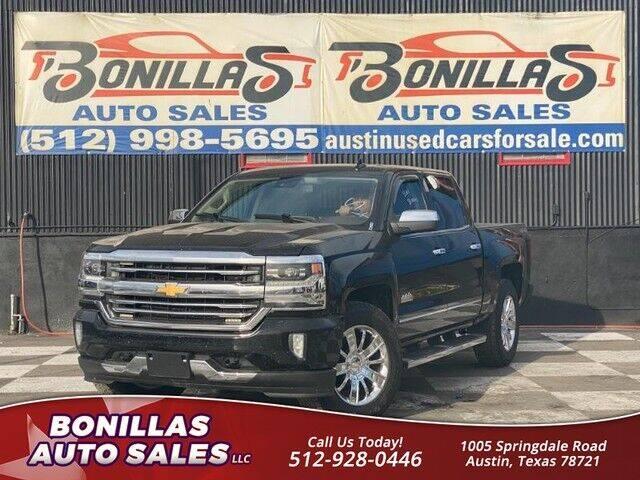 2016 Chevrolet Silverado 1500 for sale at Bonillas Auto Sales in Austin TX