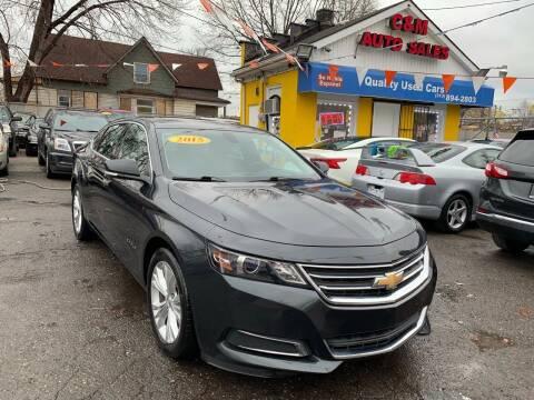 2015 Chevrolet Impala for sale at C & M Auto Sales in Detroit MI