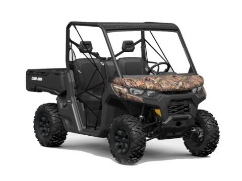 2021 Can-Am Defender DPS HD8 Mossy Oak Bre for sale at Head Motor Company - Head Indian Motorcycle in Columbia MO