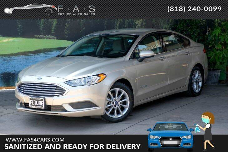 2017 Ford Fusion Hybrid for sale in Glendale, CA