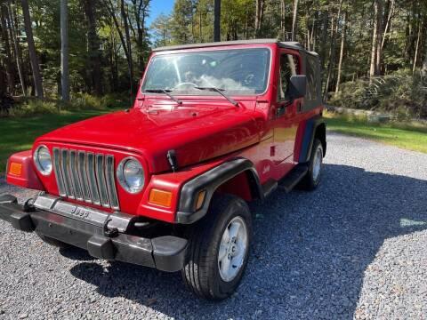 2000 Jeep Wrangler for sale at JM Auto Sales in Shenandoah PA