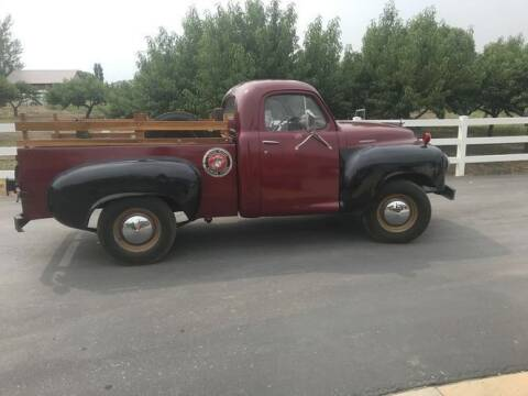 1949 Studebaker Pickup for sale at Classic Car Deals in Cadillac MI