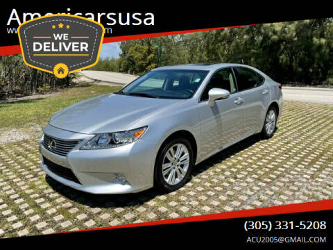 2014 Lexus ES 350 for sale at Americarsusa in Hollywood FL