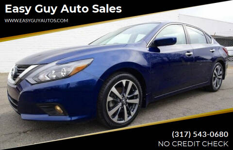 2017 Nissan Altima for sale at Easy Guy Auto Sales in Indianapolis IN