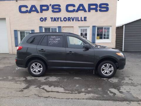 2010 Hyundai Santa Fe for sale at Caps Cars Of Taylorville in Taylorville IL