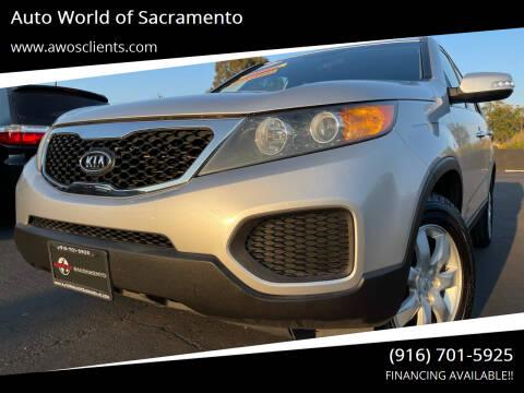 2011 Kia Sorento for sale at Auto World of Sacramento Stockton Blvd in Sacramento CA