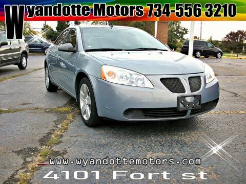 2009 Pontiac G6 for sale at Wyandotte Motors in Wyandotte MI