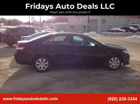 2011 Toyota Camry for sale at Fridays Auto Deals LLC in Oshkosh WI