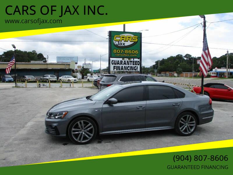 2018 Volkswagen Passat for sale at CARS OF JAX INC. in Jacksonville FL