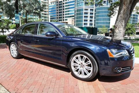 2013 Audi A8 L for sale at Choice Auto in Fort Lauderdale FL