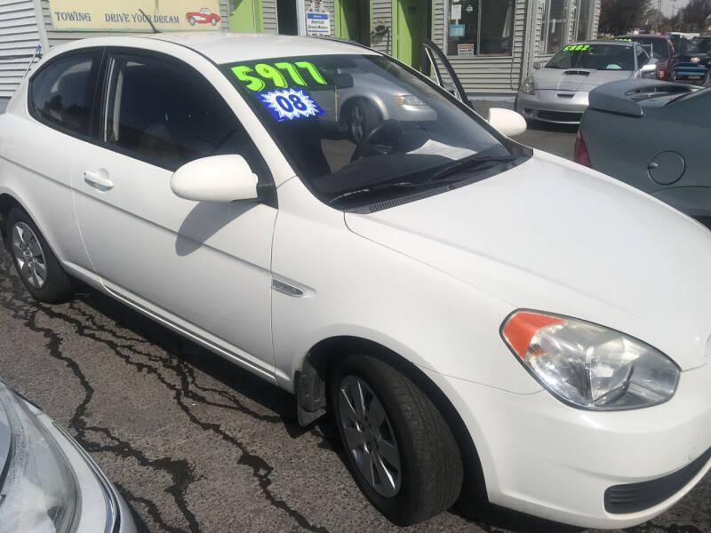 2008 Hyundai Accent for sale at American Dream Motors in Everett WA
