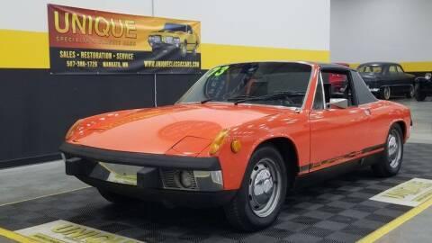 1973 Porsche 914 for sale at UNIQUE SPECIALTY & CLASSICS in Mankato MN