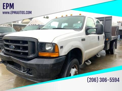 2001 Ford F-450 Super Duty for sale at EPM in Auburn WA