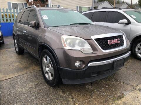 2009 GMC Acadia for sale at Chehalis Auto Center in Chehalis WA