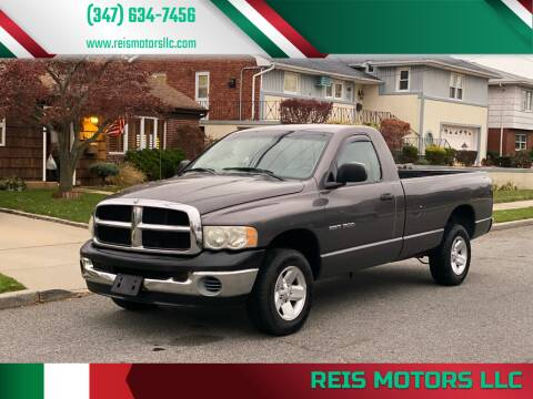 2003 Dodge Ram Pickup 1500 for sale at Reis Motors LLC in Lawrence NY