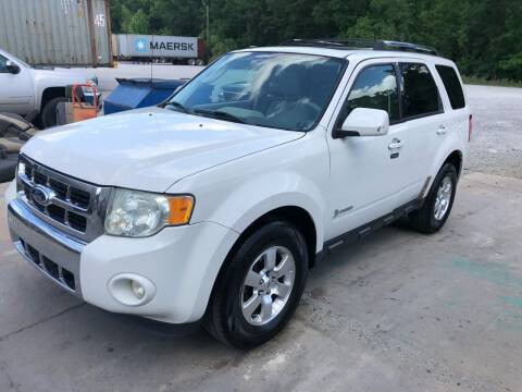 2011 Ford Escape Hybrid for sale at Hwy 80 Auto Sales in Savannah GA