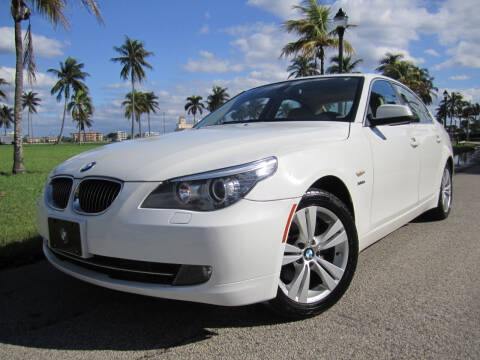 2010 BMW 5 Series for sale at FLORIDACARSTOGO in West Palm Beach FL