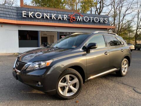 2011 Lexus RX 350 for sale at Ekonkar Motors in Scotch Plains NJ