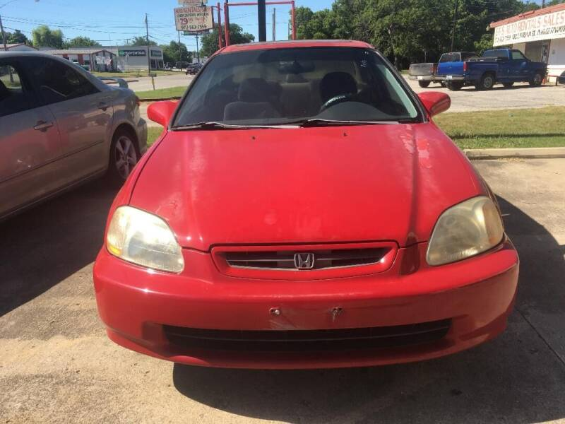 1999 Honda Civic for sale at OLVERA AUTO SALES in Terrell TX