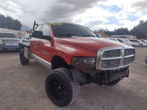 2003 Dodge Ram Pickup 2500 for sale at Canyon View Auto Sales in Cedar City UT