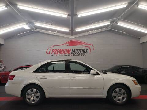 2007 Hyundai Sonata for sale at Premium Motors in Villa Park IL