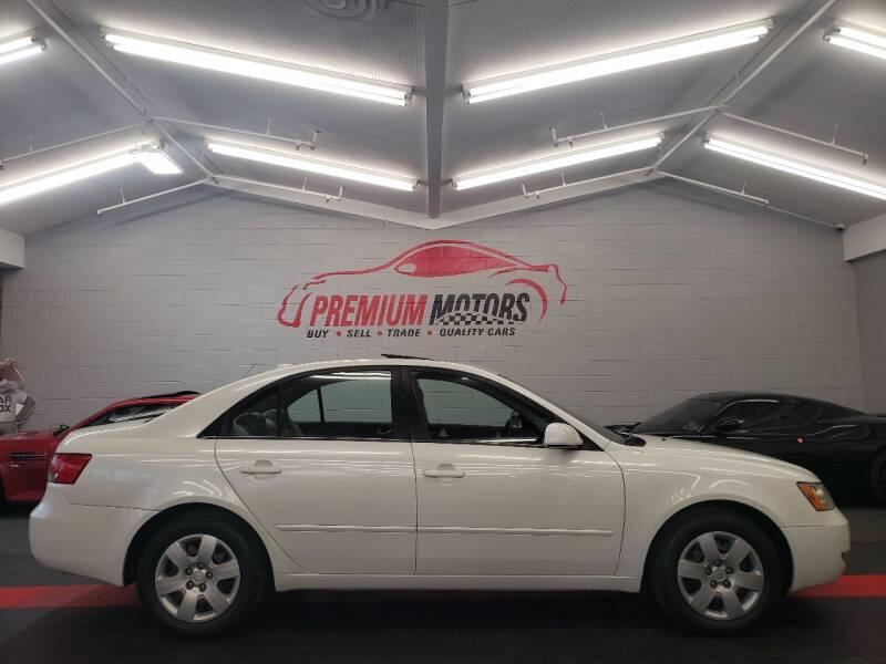 2007 Hyundai Sonata for sale at Premium Motors in Villa Park IL