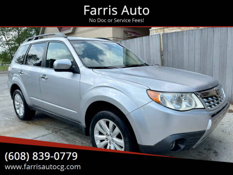 2013 Subaru Forester for sale at Farris Auto in Cottage Grove WI