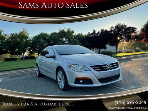 2010 Volkswagen CC for sale at Sams Auto Sales in North Highlands CA