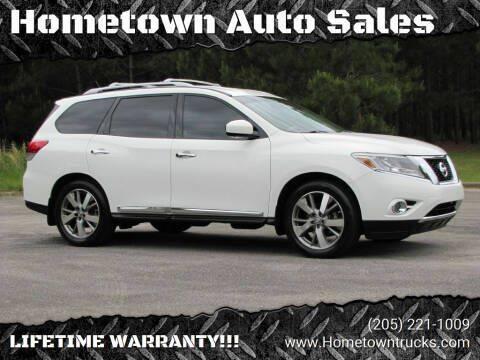 2014 Nissan Pathfinder for sale at Hometown Auto Sales - SUVS in Jasper AL