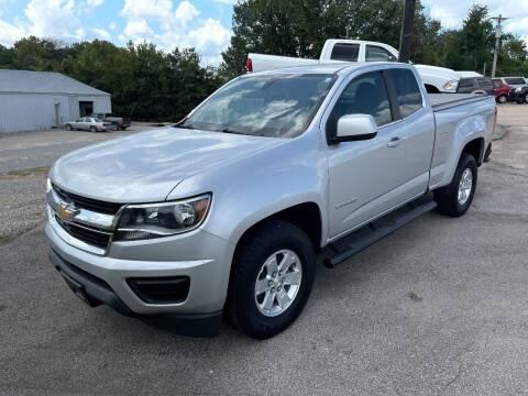 2016 Chevrolet Colorado for sale at Greg's Auto Sales in Poplar Bluff MO