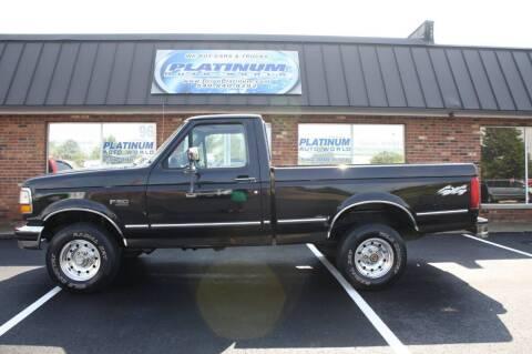 1994 Ford F-150 for sale at Platinum Auto World in Fredericksburg VA