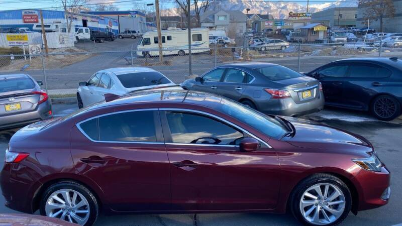 2016 Acura ILX for sale at CarSmart Auto Group in Murray UT