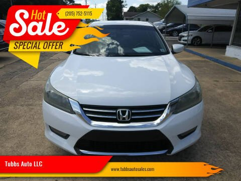 2014 Honda Accord for sale at Tubbs Auto LLC in Tuscaloosa AL