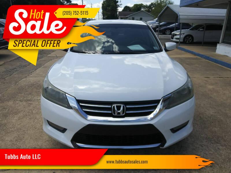 2014 Honda Accord for sale at Tubbs Auto LLC in Tuscaloosa AL
