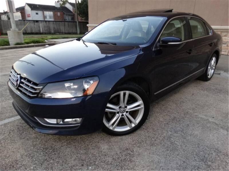2014 Volkswagen Passat for sale at Abe Motors in Houston TX