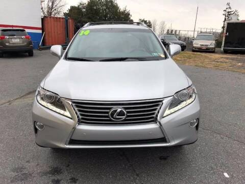 2014 Lexus RX 350 for sale at Fuentes Brothers Auto Sales - Jessup in Jessup MD
