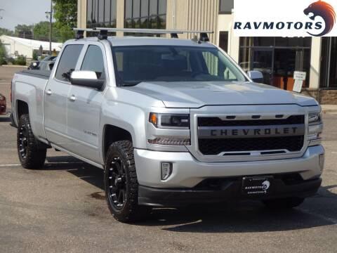 2017 Chevrolet Silverado 1500 for sale at RAVMOTORS 2 in Crystal MN