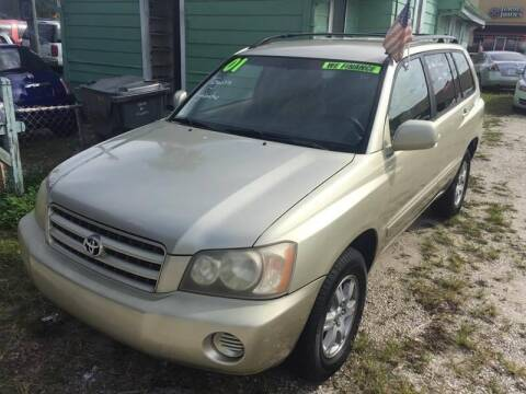 2001 Toyota Highlander for sale at Castagna Auto Sales LLC in Saint Augustine FL