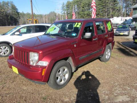 2012 Jeep Liberty for sale at Jons Route 114 Auto Sales in New Boston NH