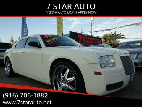 2007 Chrysler 300 for sale at 7 STAR AUTO in Sacramento CA