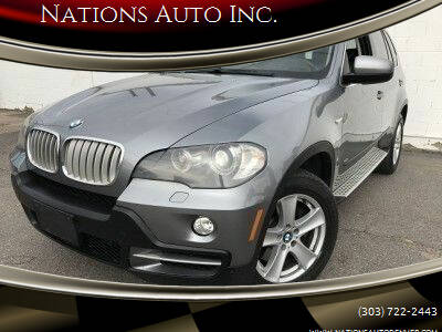 2008 BMW X5 for sale at Nations Auto Inc. in Denver CO