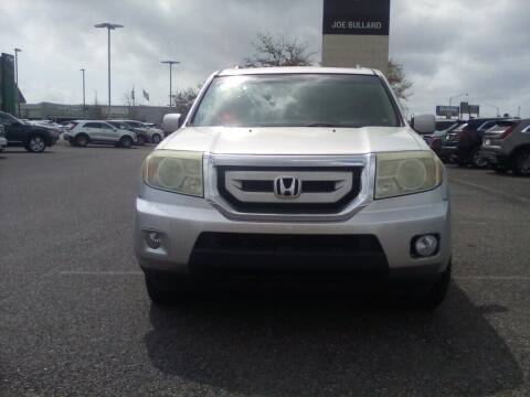 2011 Honda Pilot for sale at JOE BULLARD USED CARS in Mobile AL
