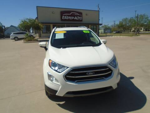 2019 Ford EcoSport for sale at Eastep Auto Sales in Bryan TX
