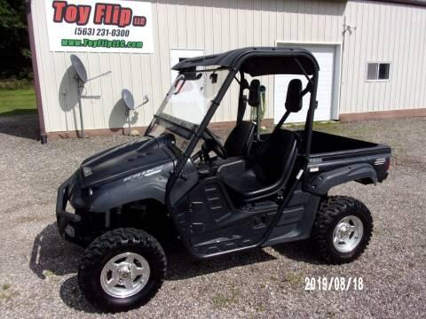 2008 Yamaha Rhino 700 FI SE for sale at Toy Flip LLC in Cascade IA