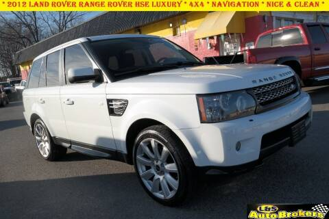 2012 Land Rover Range Rover Sport for sale at L & S AUTO BROKERS in Fredericksburg VA
