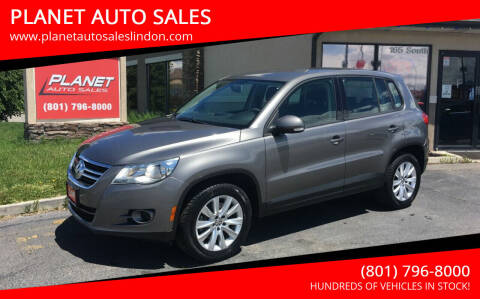 2010 Volkswagen Tiguan for sale at PLANET AUTO SALES in Lindon UT