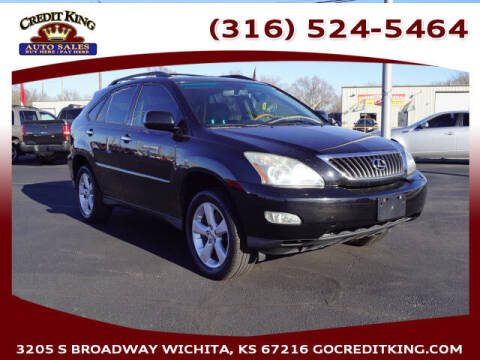 2008 Lexus RX 350 for sale at Credit King Auto Sales in Wichita KS